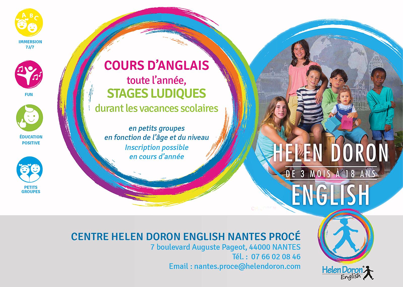 Propose cours et stages d'anglais pour les enfants et les adolescents