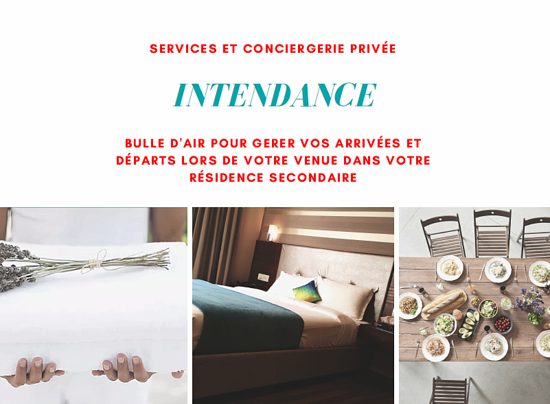 Propose des prestations d'intendance