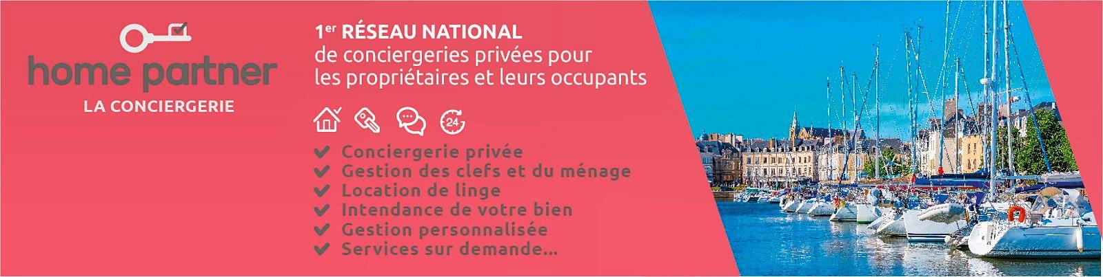 Propose services de conciergerie privée à Vannes et Golfe du Morbihan (56000)