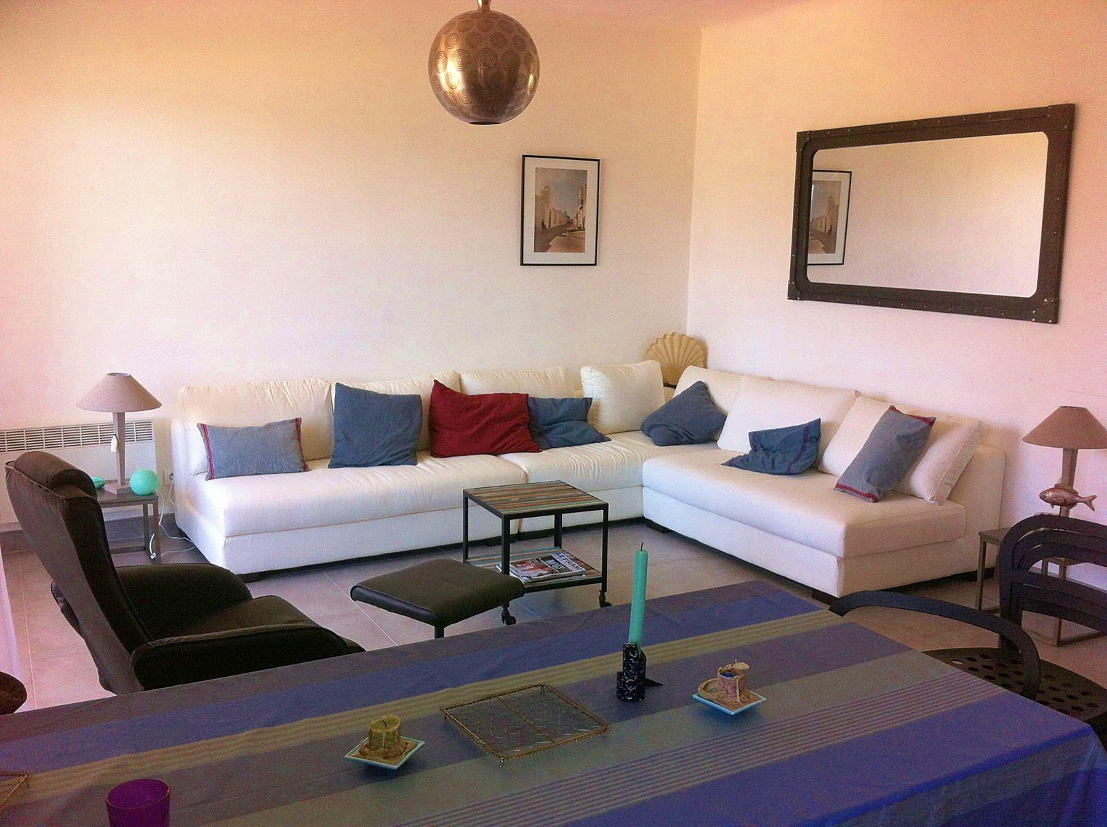 Loue Propriano (Corse) appartement devant la plage 6couchages