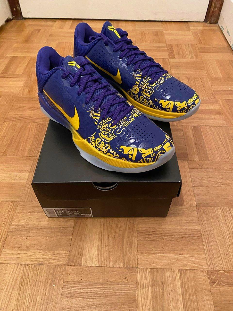 Vends chaussures Nike Kobe 5Protro 5rings (44,5) (NEUVES)