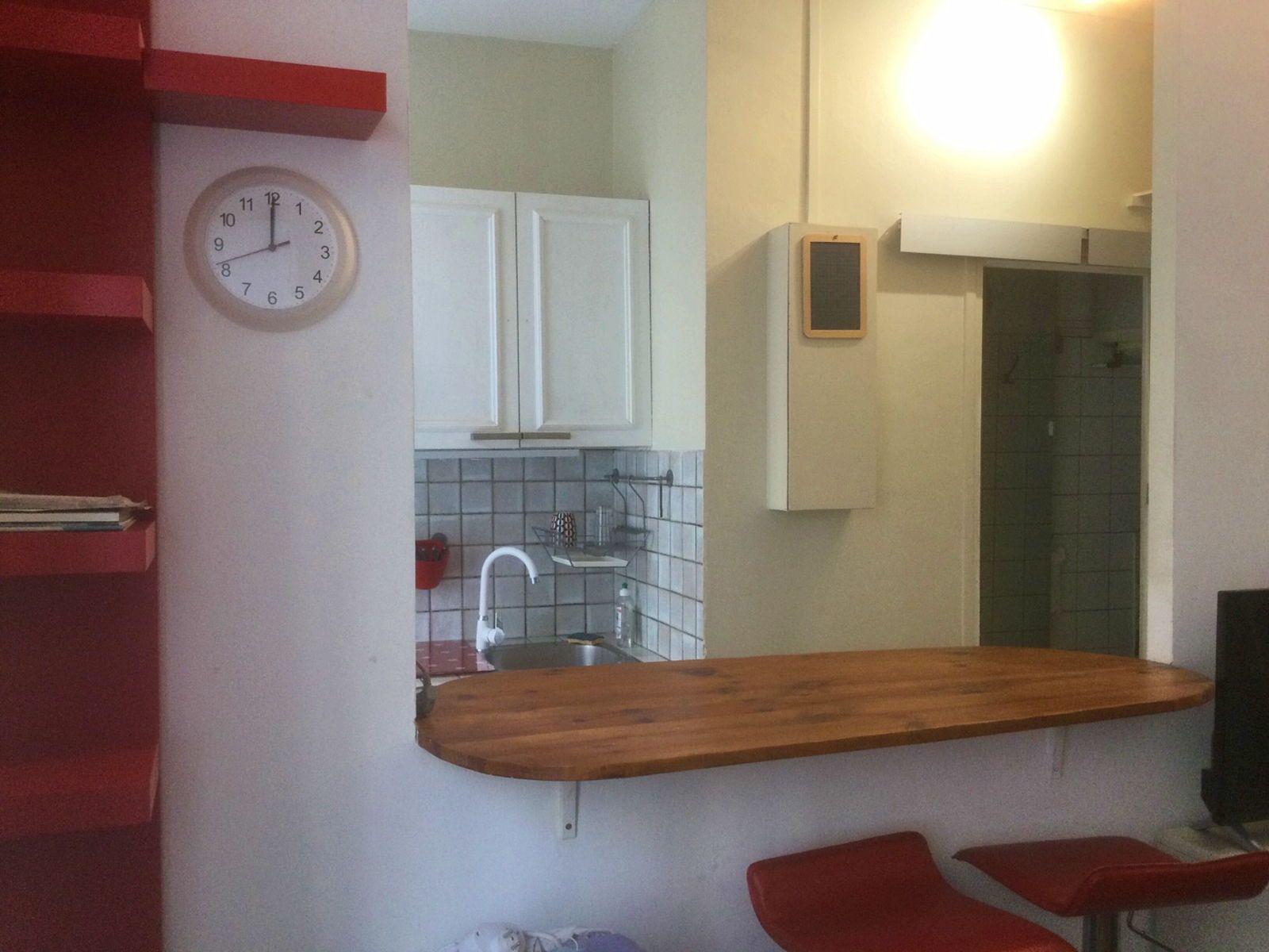 Loue quartier Écrivain Studio rénové, meublé et équipé - 19m² - Montrouge (92120)