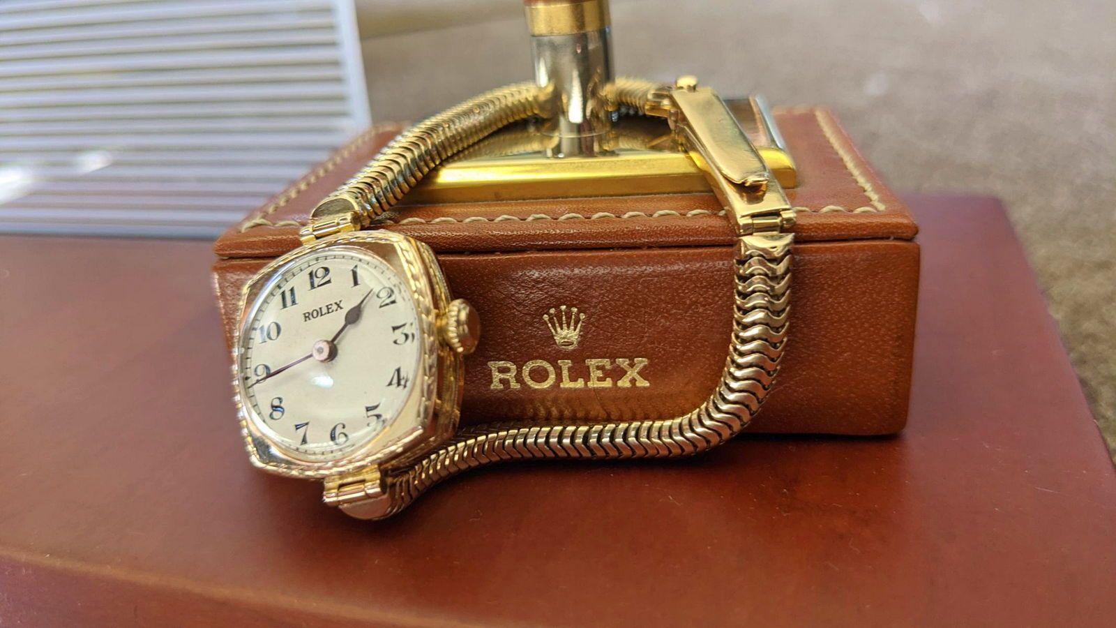 Rolex, montre femme, Or 9K, révisée