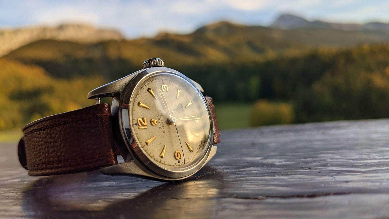 Rolex, Oyster Royal, montre, homme
