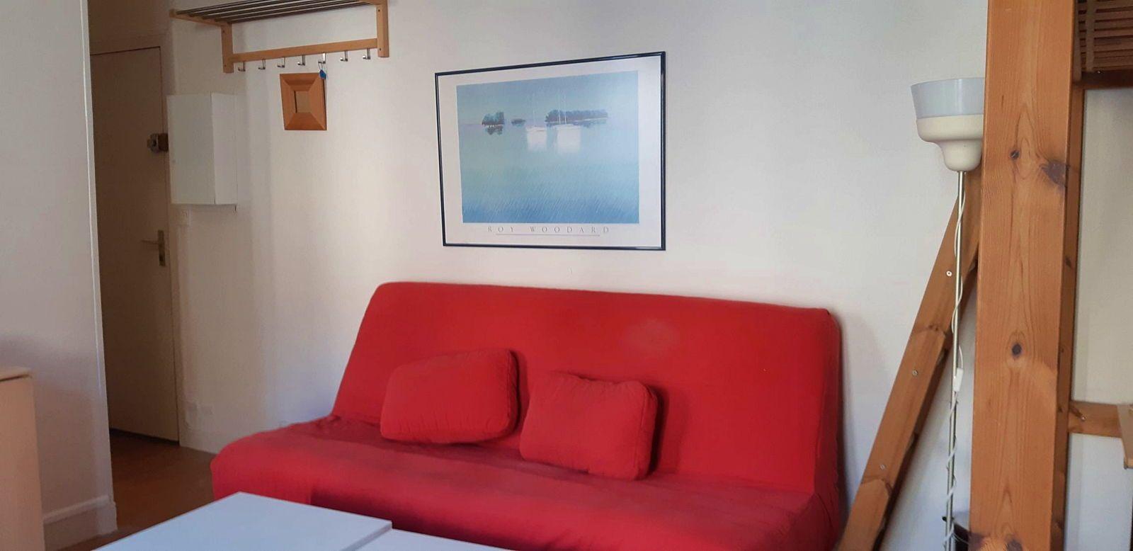 Loue Rueil coeur de ville studio meublé et équipé - 1chambre, 26m²