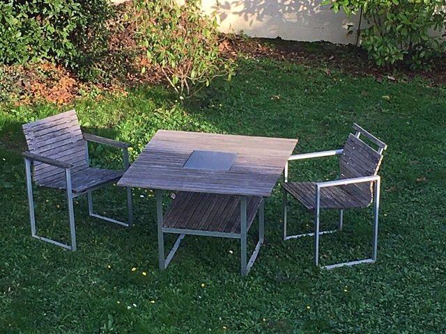 Salon de jardin Ikea vintage