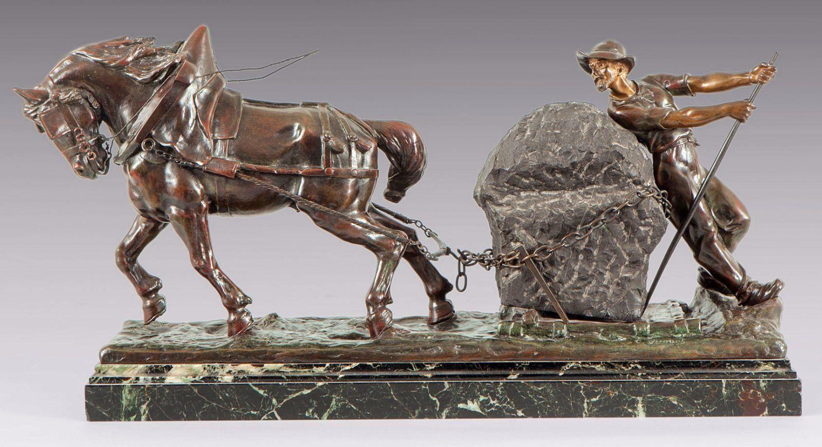 Sculpture d'Edouard Drouot, Le tailleur de pierre
