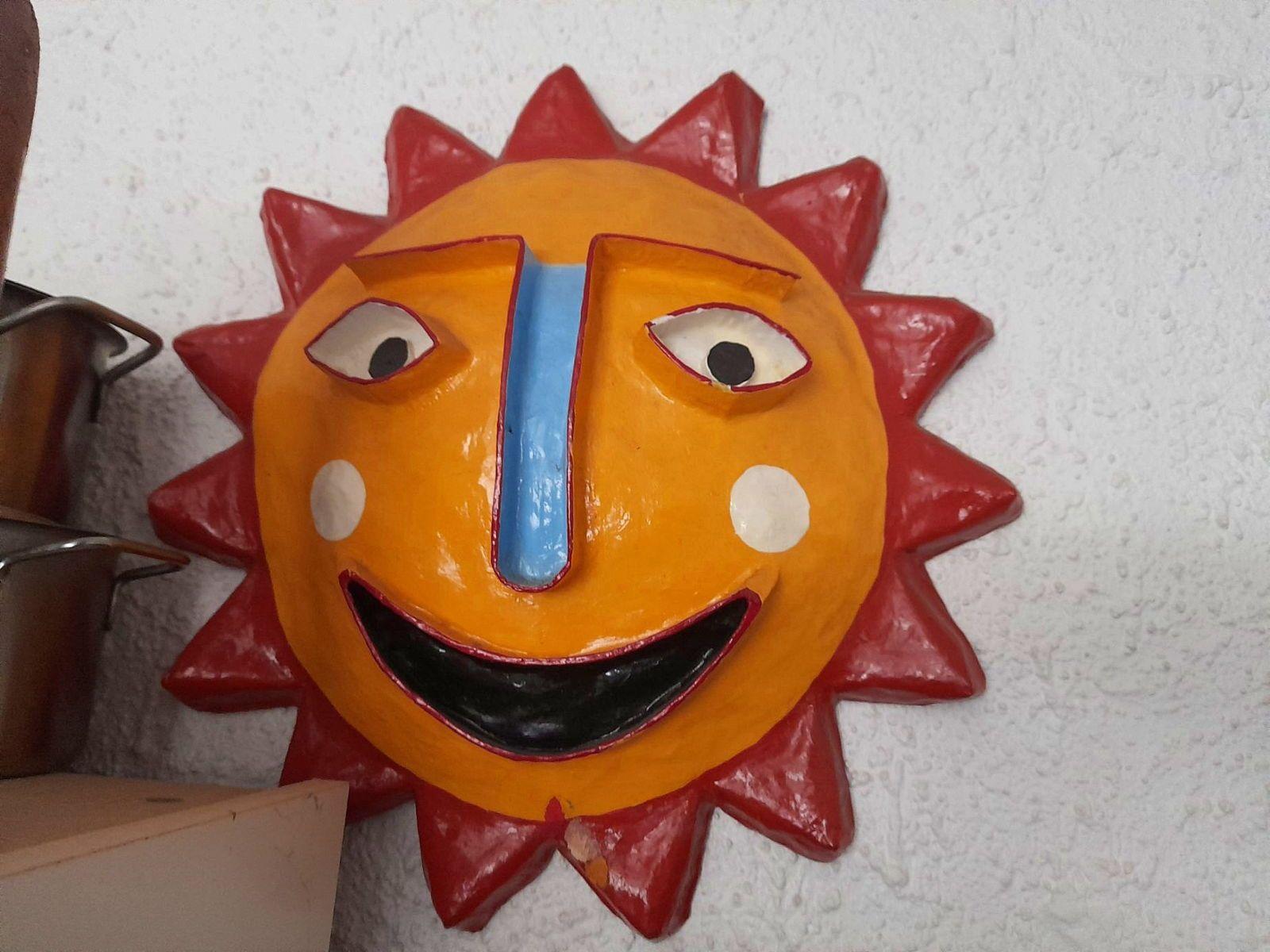 "Sculpture Murale ""Soleil"""