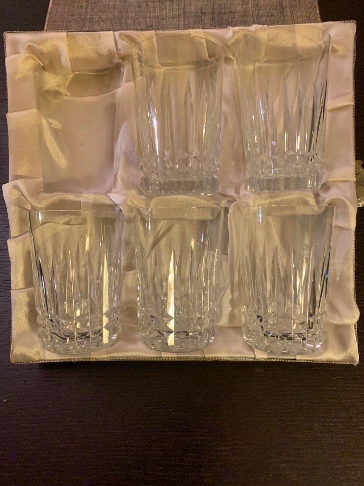 Gobelets en cristal de Moselle