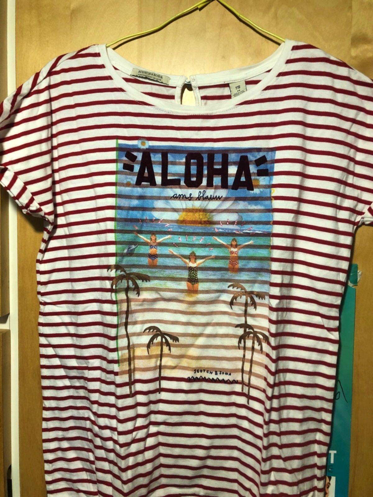 T shirt Scotch and Soda 16ans