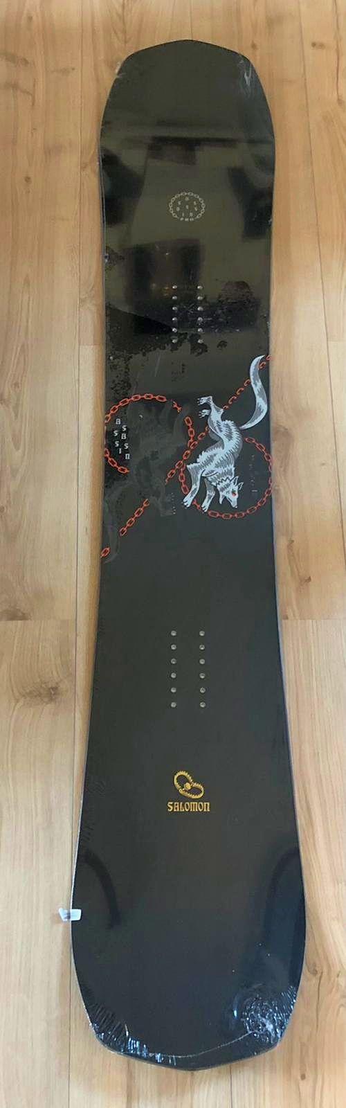 Snowboard Salomon assassin pro 159cm