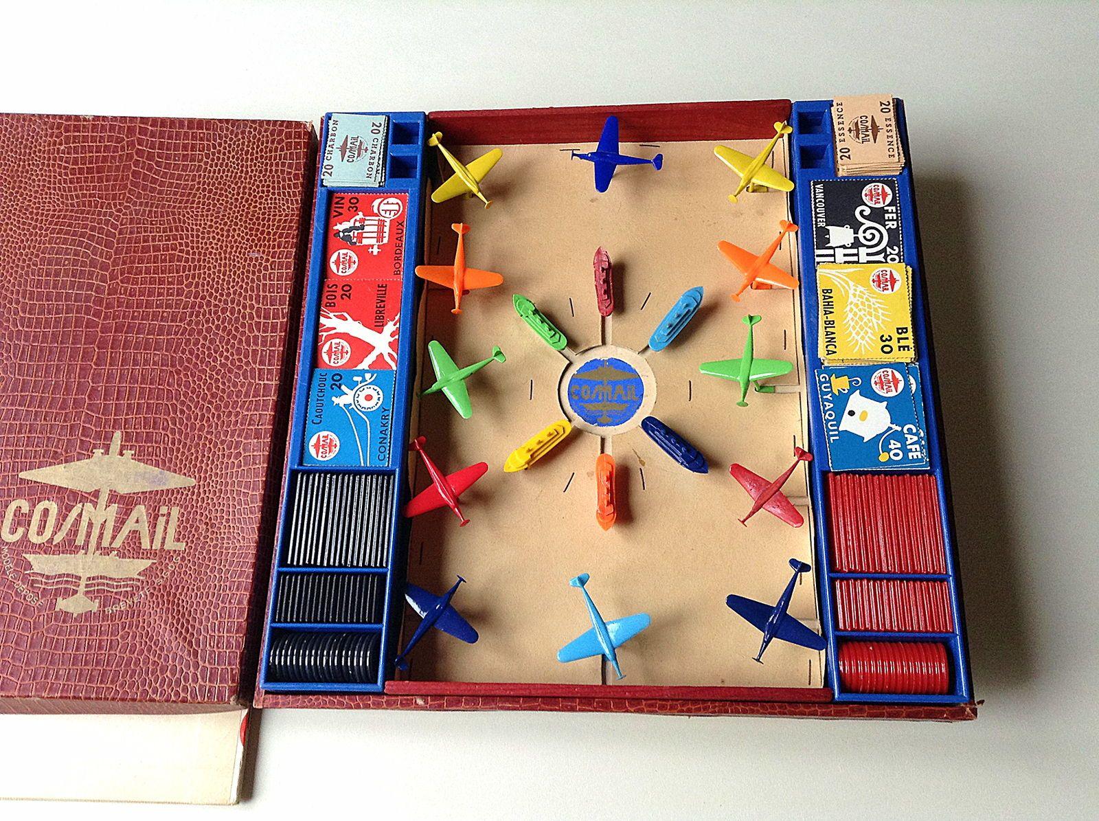 Jeux de société des années 60/70pour collectionneur