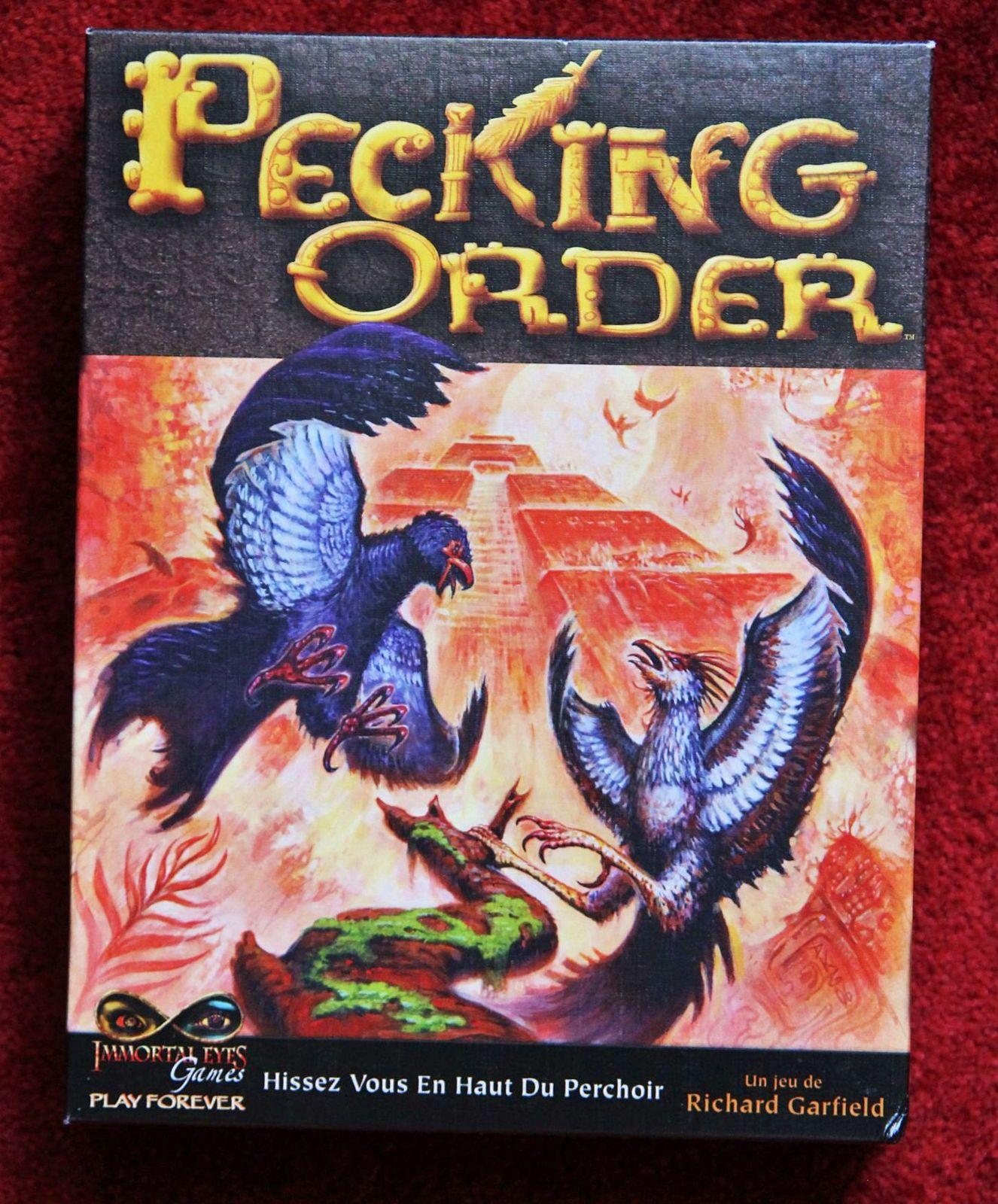 Jeux de société Pecking order