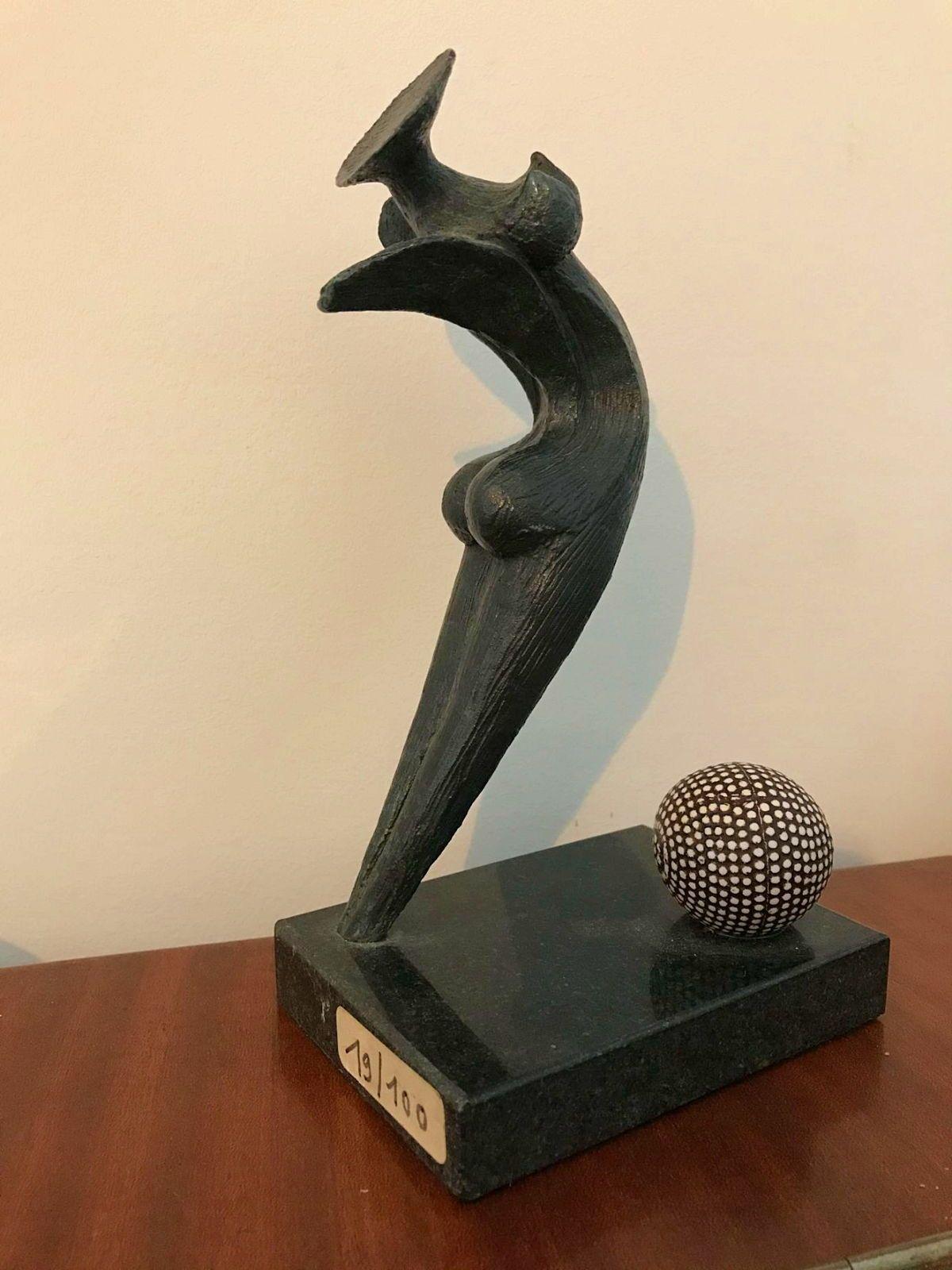 Statuette Bronze Marion BURKLE 19/100