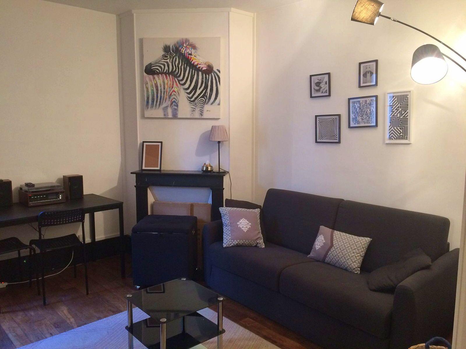 Loue Studio meublé 26m² - libre à partir du 1er mai 2021- Clichy 92