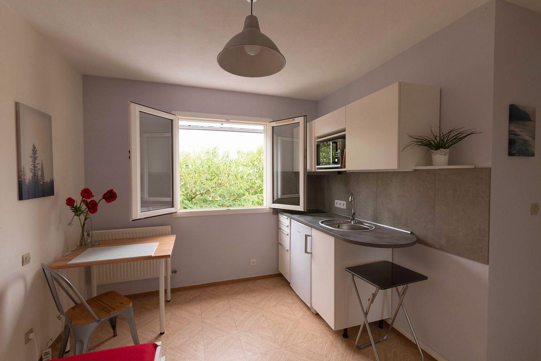 Loue studio meublé chez l'habitant 11m²+SDB+WC à Castelnau le Lez (34)