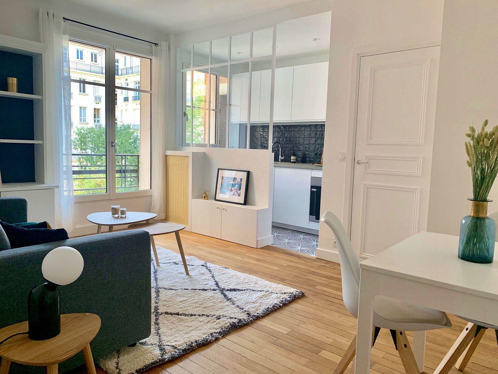 Loue Studio 27m² à Neuilly sur Seine proche bois et métro (92)