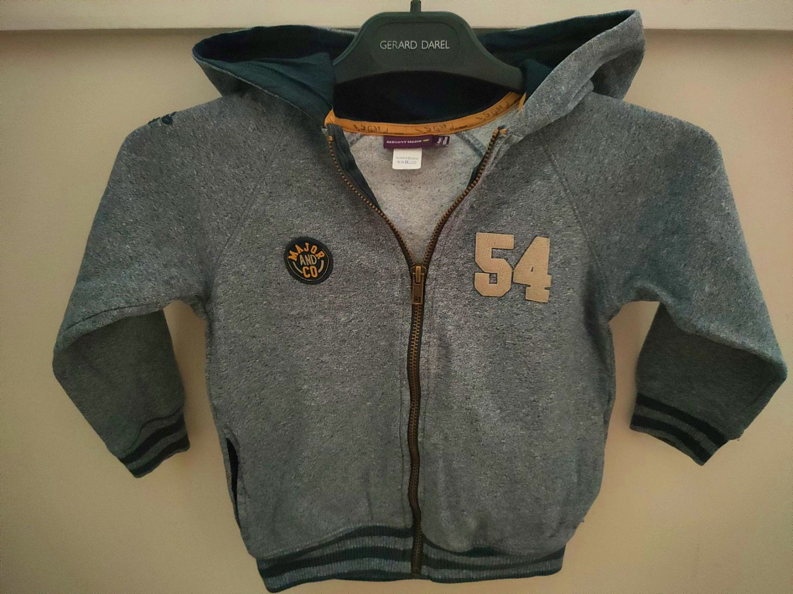 Sweat Sergent Major 4 ans