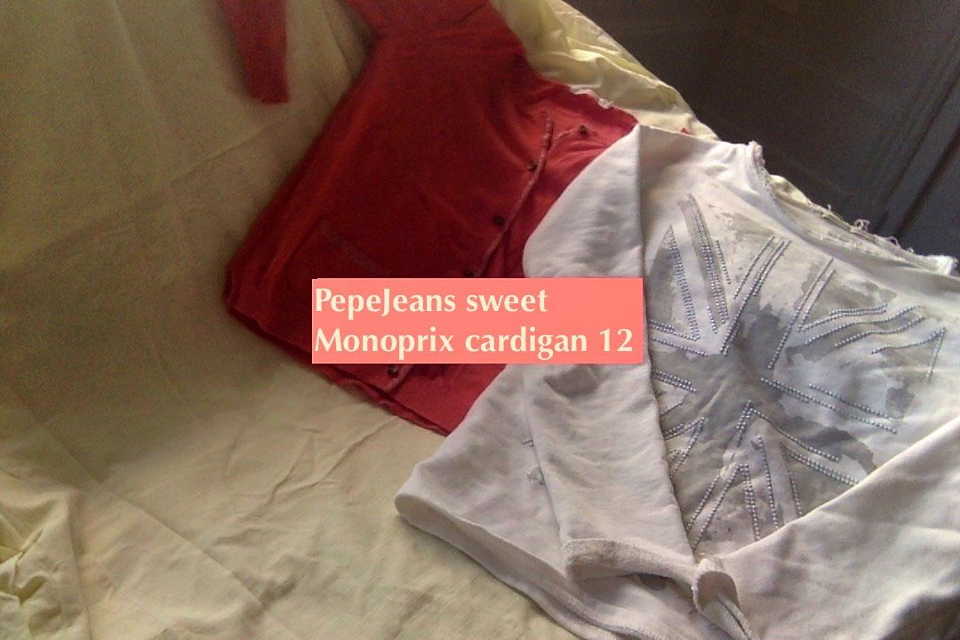 Sweet + cardigan fille 12ans