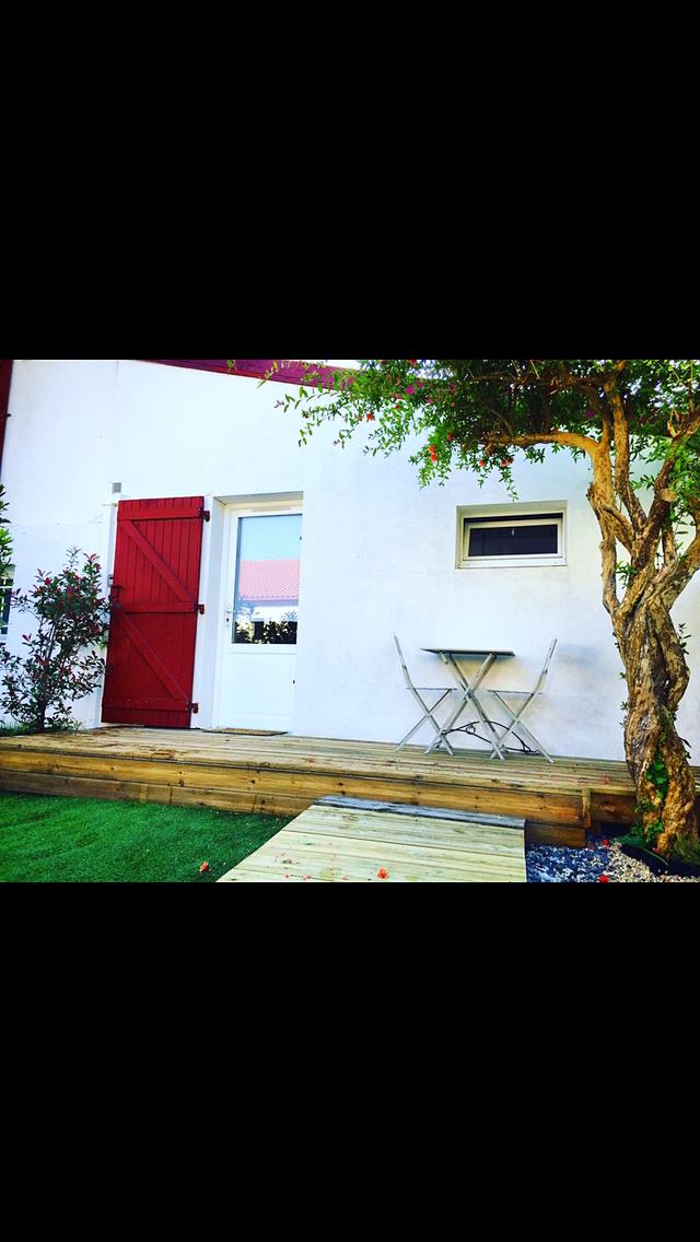 Loue appartement T1bis - 2couchages - Biarritz avec extérieur