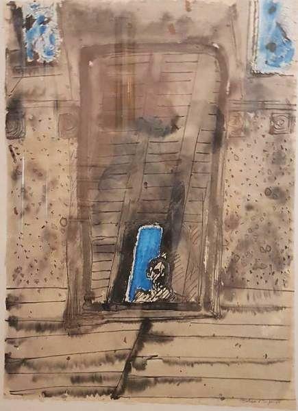 Tableau de Bernard DUFOUR - Le reflet du miroir