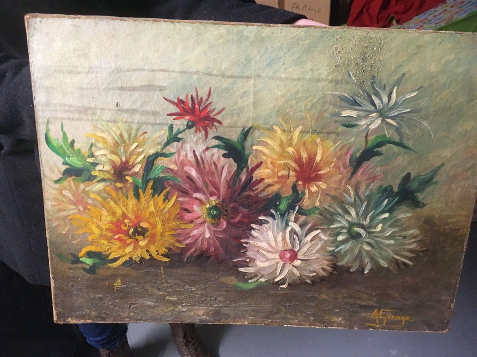Toile Fleurs