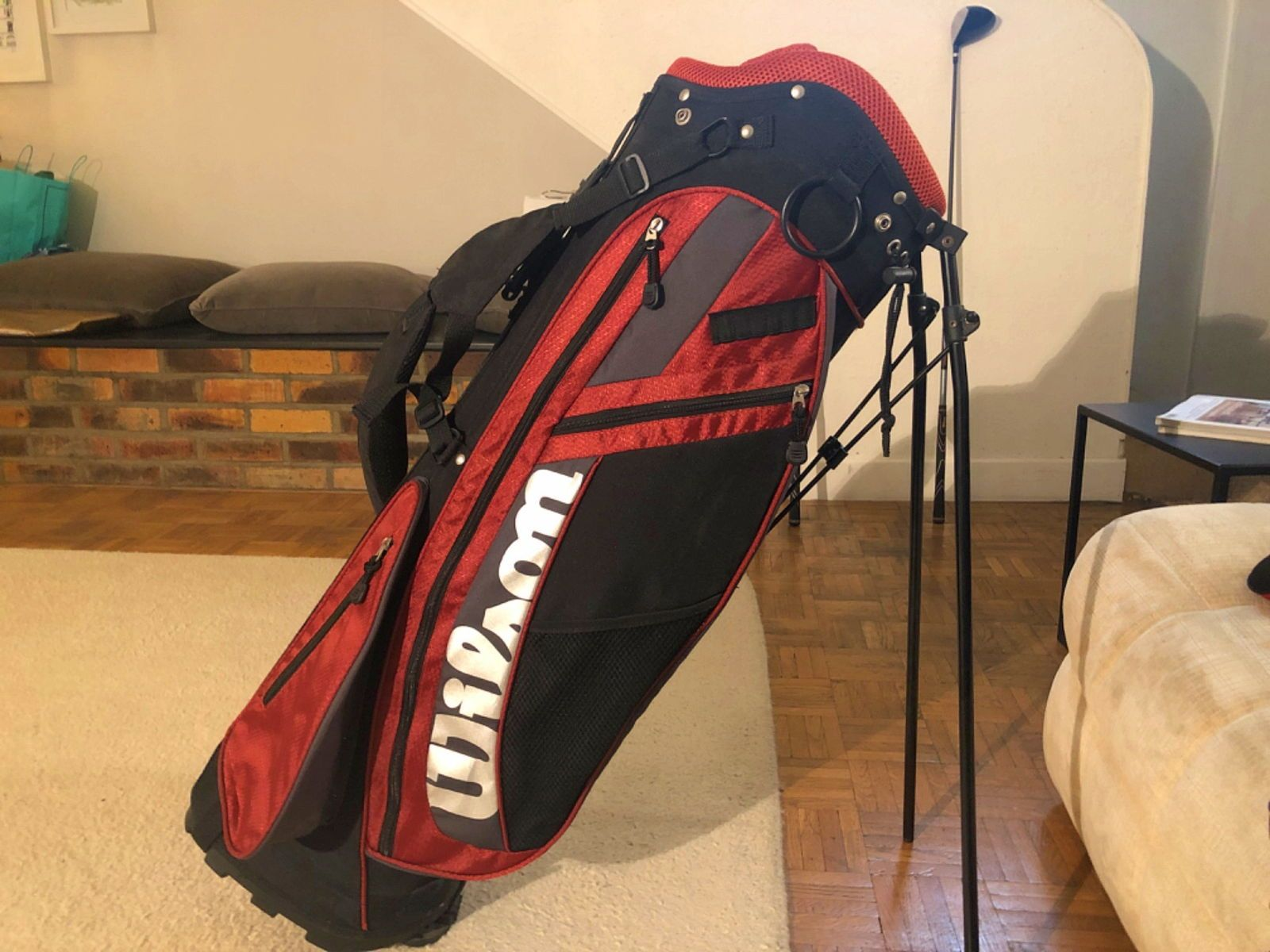 Sac trépied Deluxe Golf Stand bag