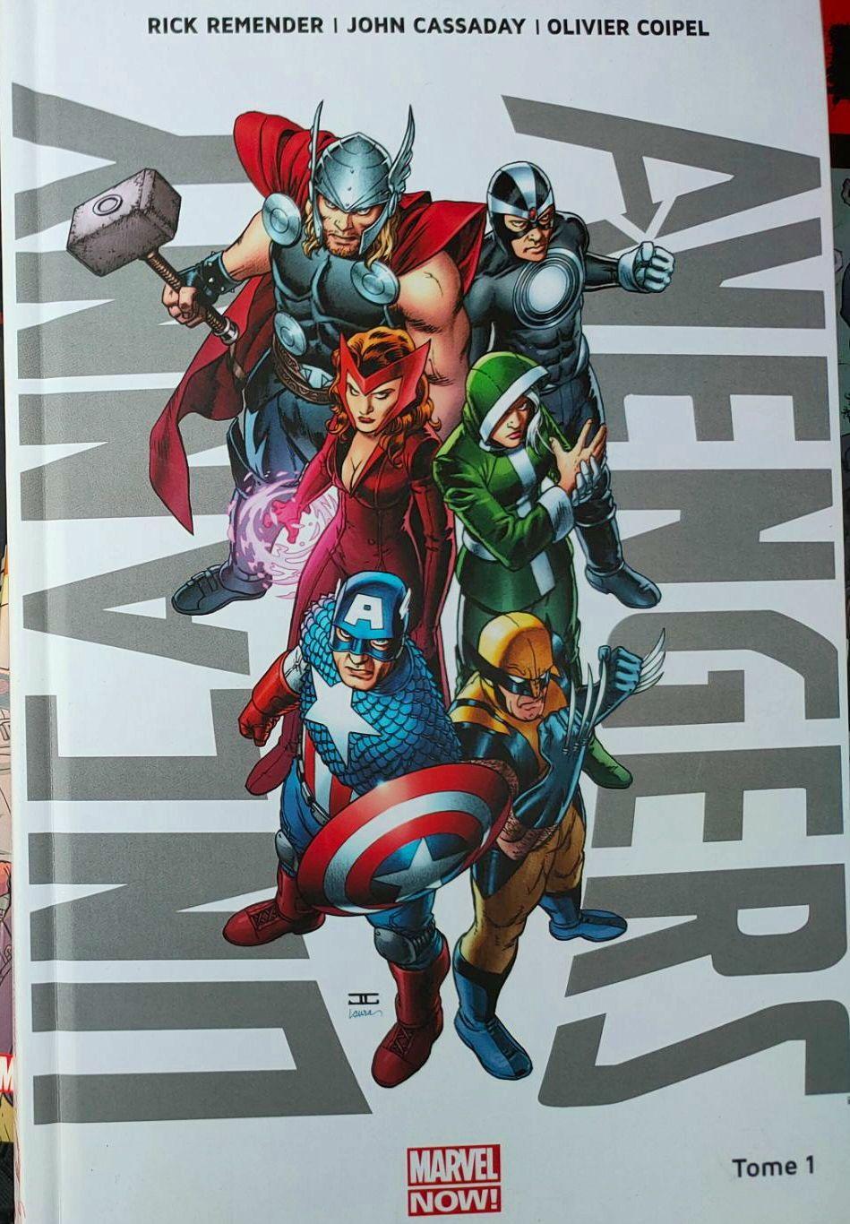 Livre Uncunny Avengers MARVEL Now