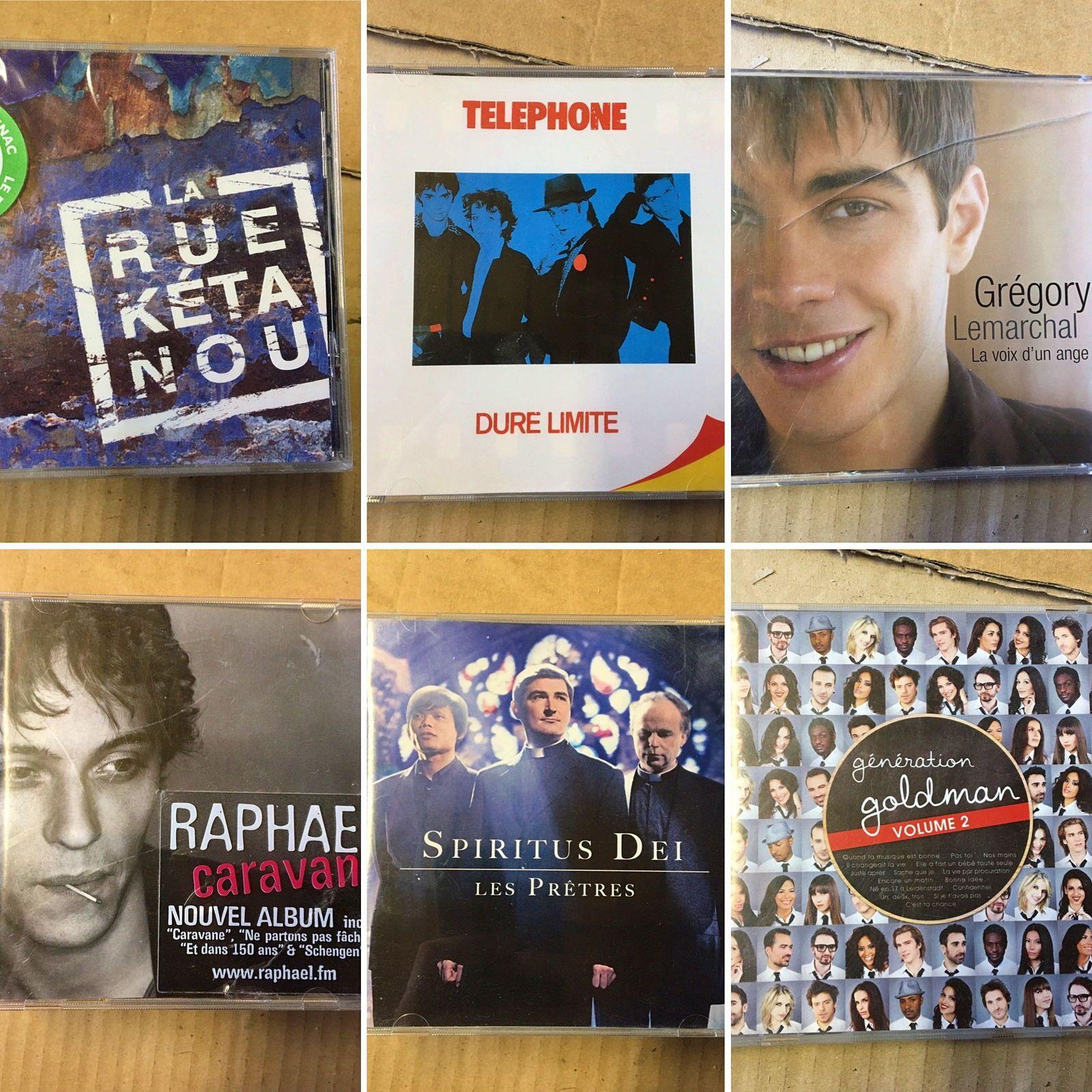 CDs variés