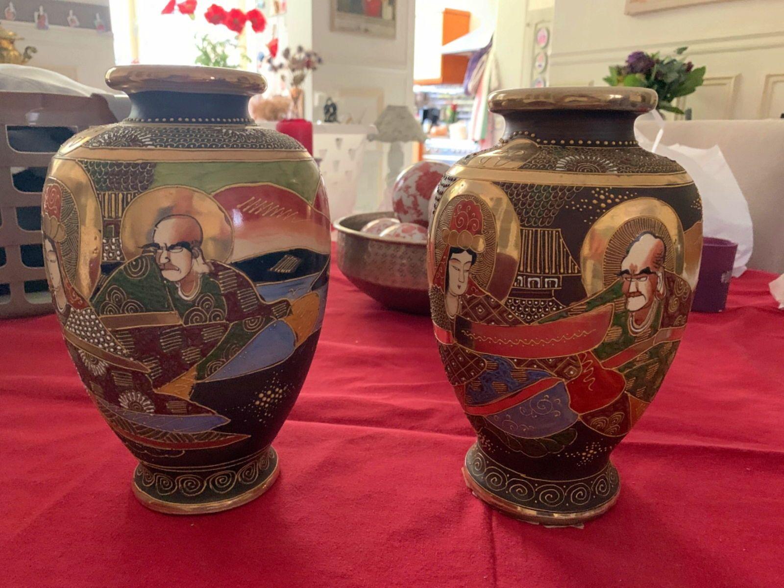 À vendre vases japonais Satsuma