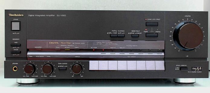 Vends Amplificateur stéréo Technics SU-V90