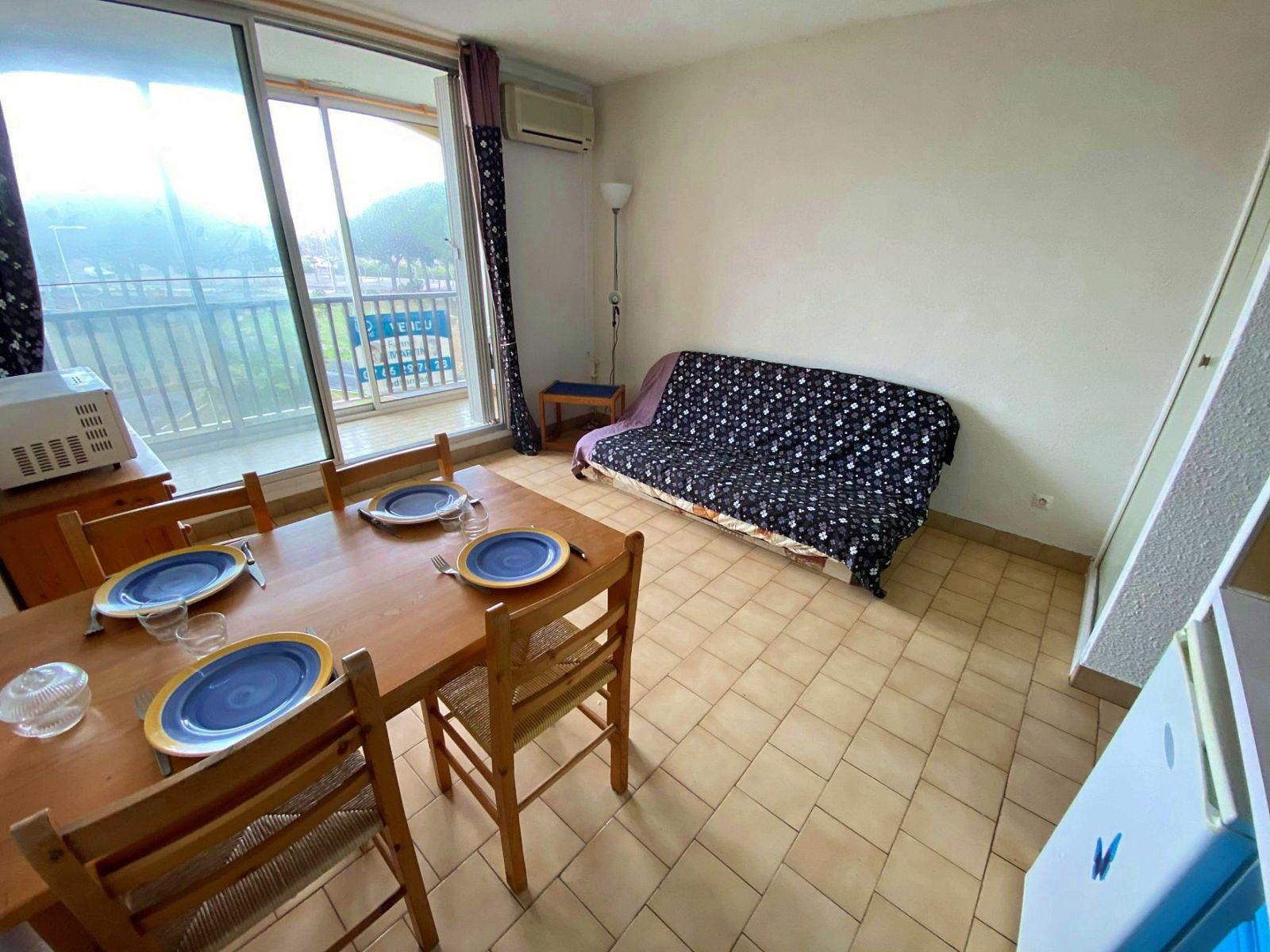 Vends Appartement 1pièce 20m² 34300Cap d'Agde