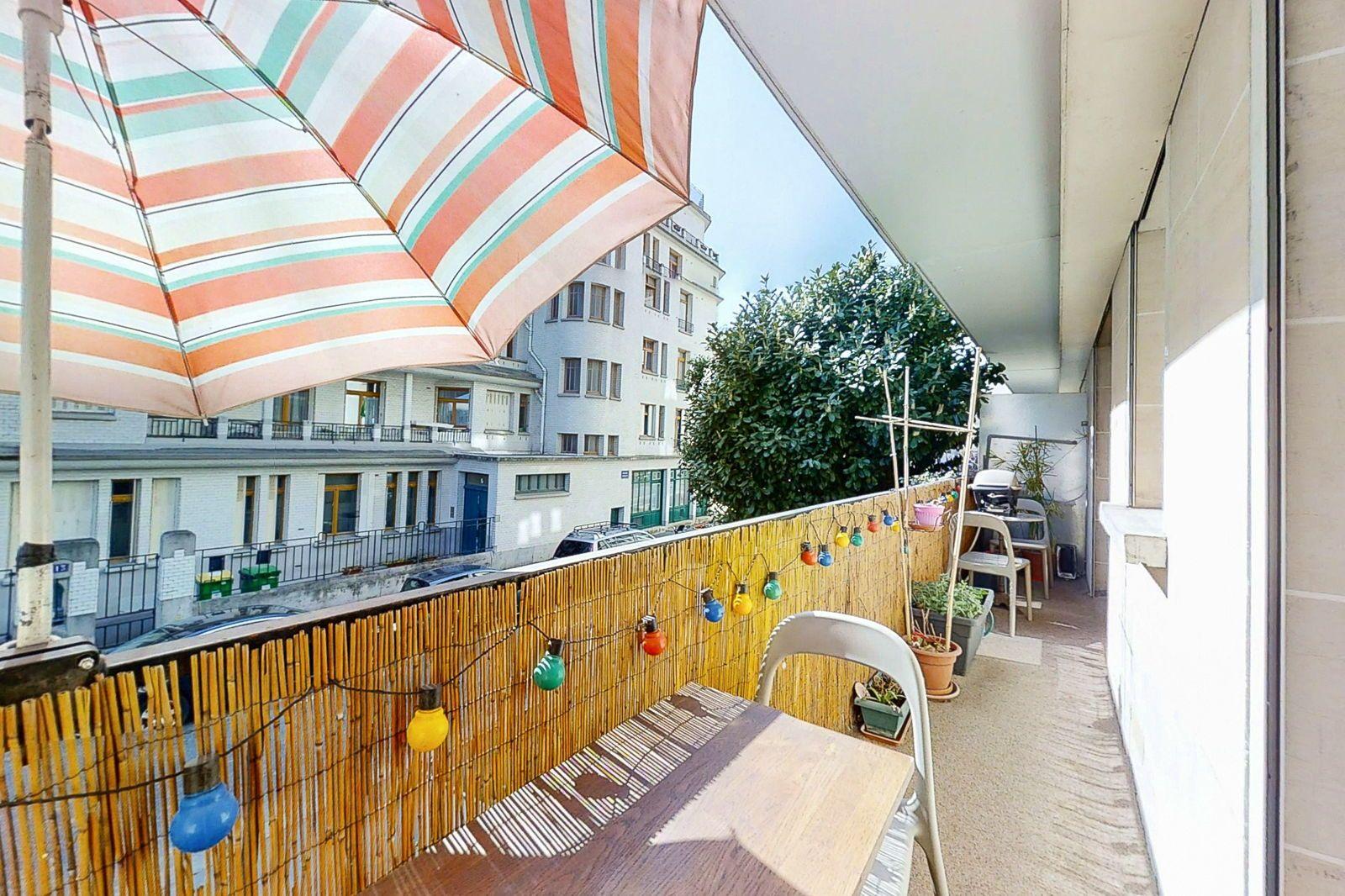Vends appartement 3Chambres et Balcon - 94m²