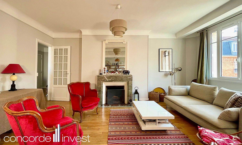Vends appartement 103m² 2chambres Courbevoie proche gare d'Asnières