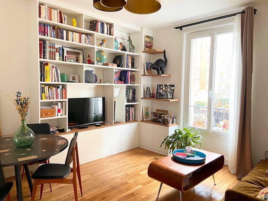 Vends appartement 59m² Bois-Colombes (92) Quartier piscine - 2chambres