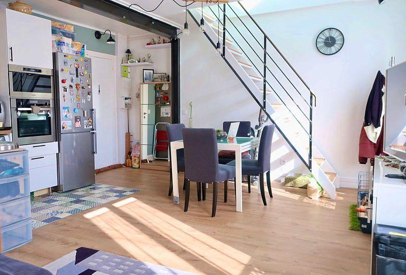 Vends appartement duplex sous combles 3/4pièces gare levallois/clichy - 46m²