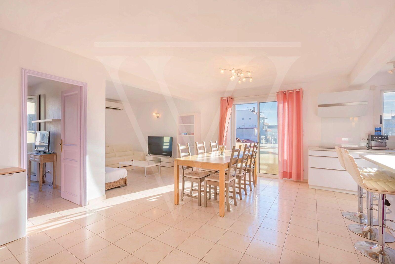 Vends Appartement Palavas 80m² 3chambres
