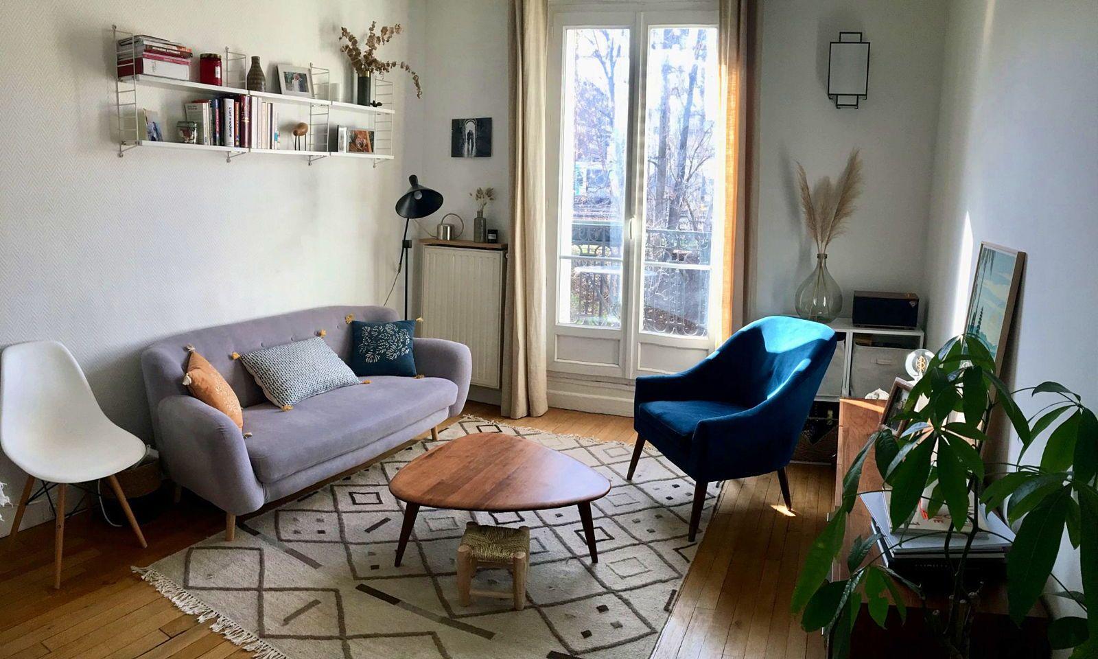 Vends appartement 3pièces + balcon - 58m² - Asnières sur Seine (gare)
