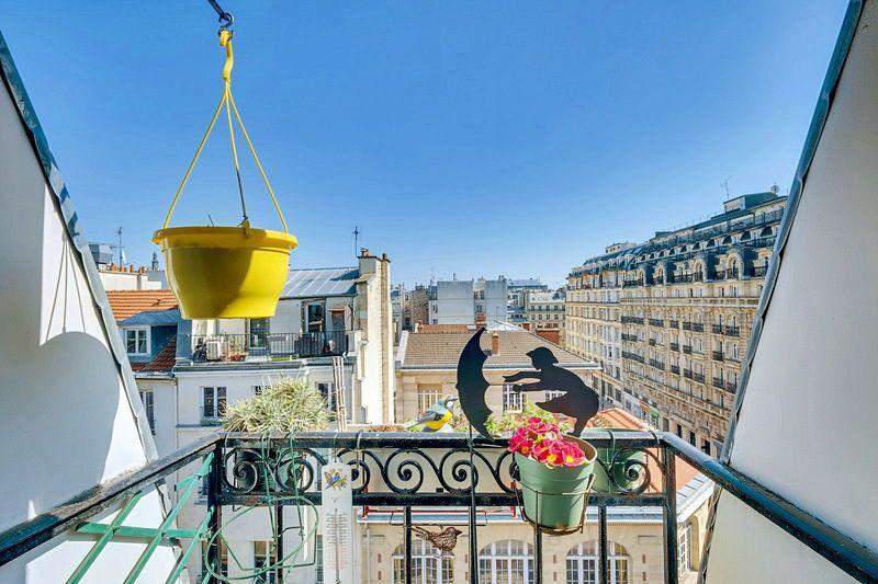 Vends appartement 2pièces de caractère et ses 3balcons Paris