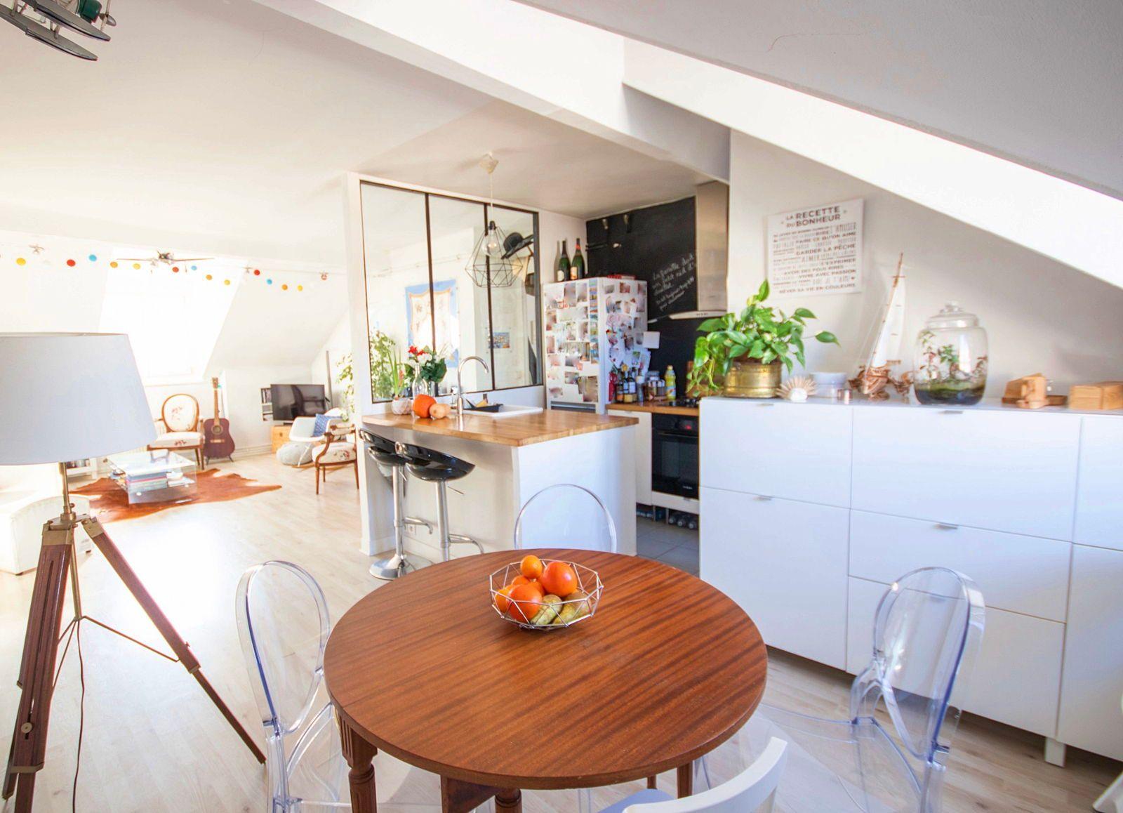 Vends appartement 3pièces, 2chambres - 68m², Asnières-sur-Seine (92)