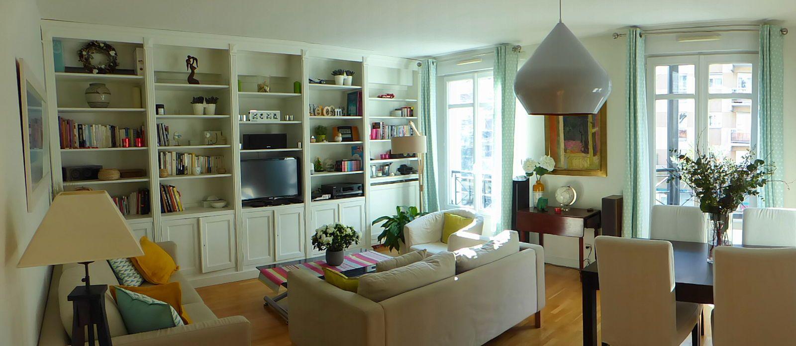 Vends Appartement 3pièces - 2chambres - 75m² à Asnières-sur-Seine
