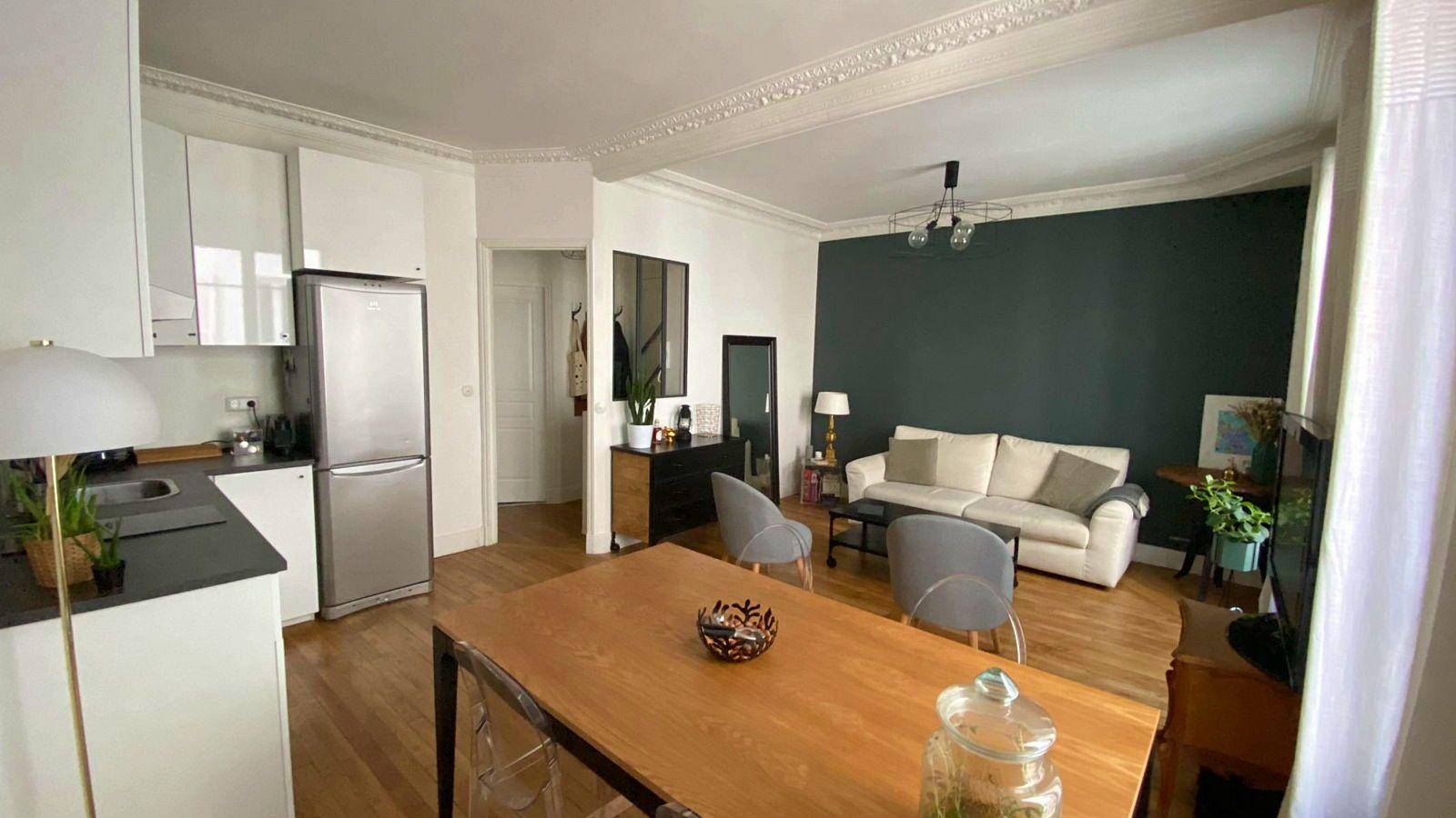 Vends appartement 38m²/ beau 2pièces, Levallois Louise Michel