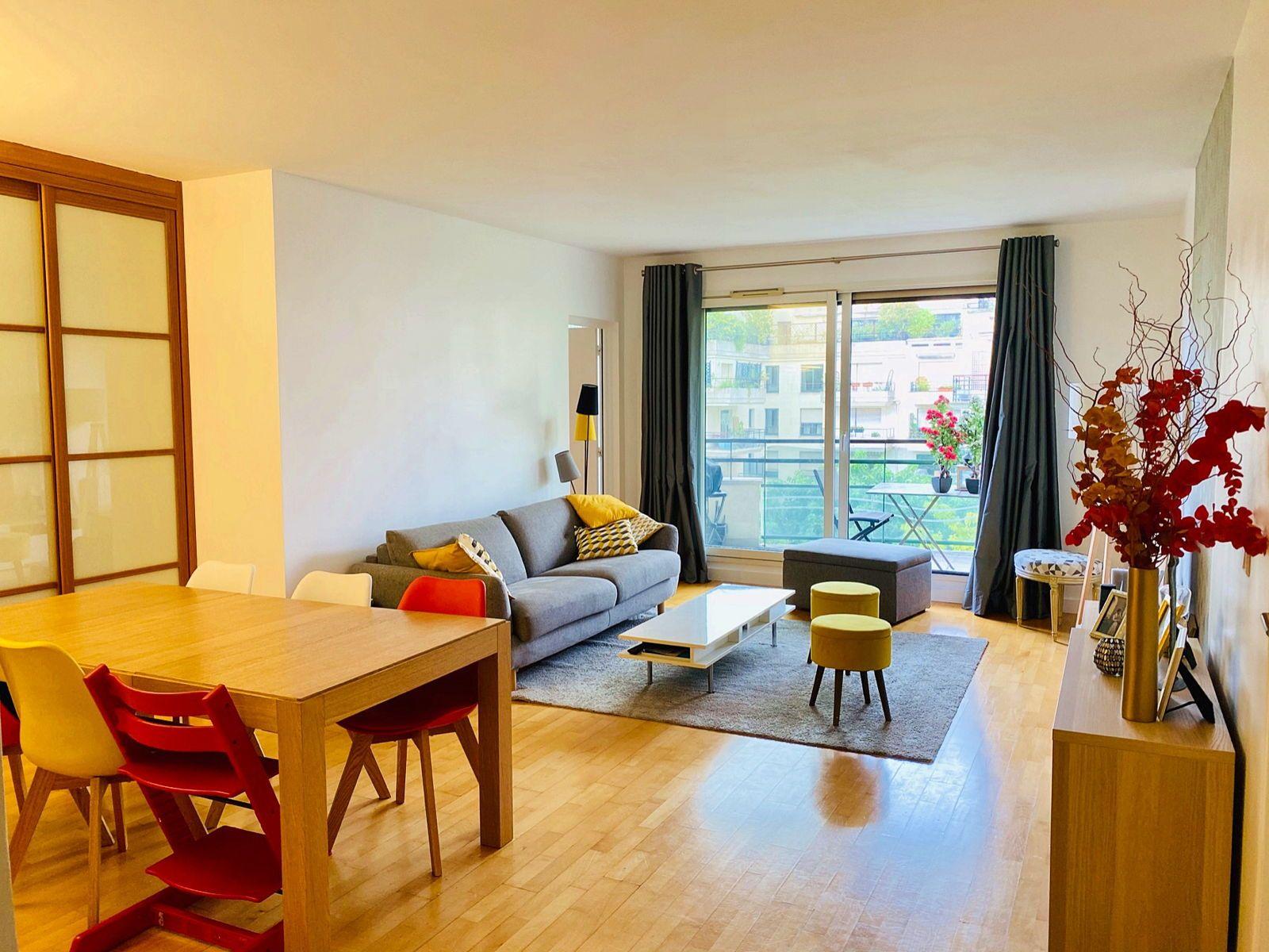 Vends appartement 4pièces, 3chambres 94m² à Levallois-Perret (92), calme absolu