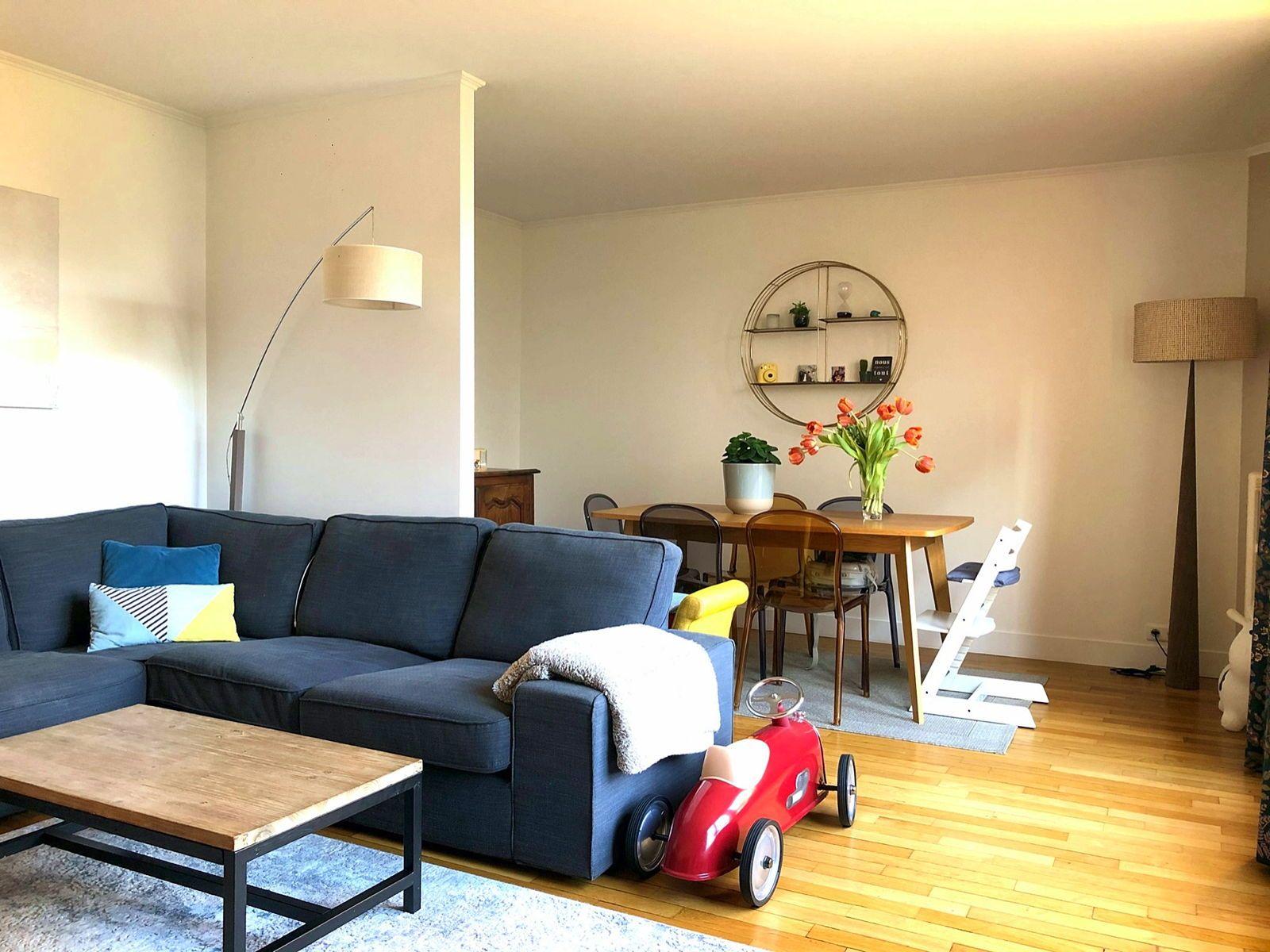 Vends appartement F3/4- 65m², quartier mairie/comète, Asnières-sur-Seine (92)
