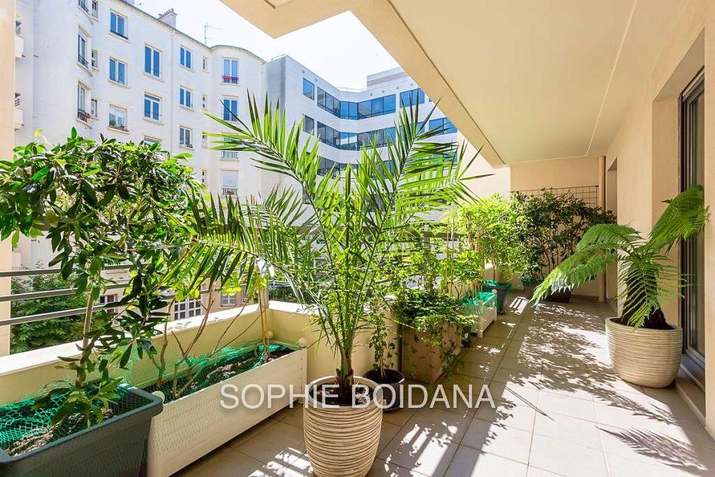 Vends Appartement 68m²+ terrasse 13m² - 2chambres - Levallois Perret