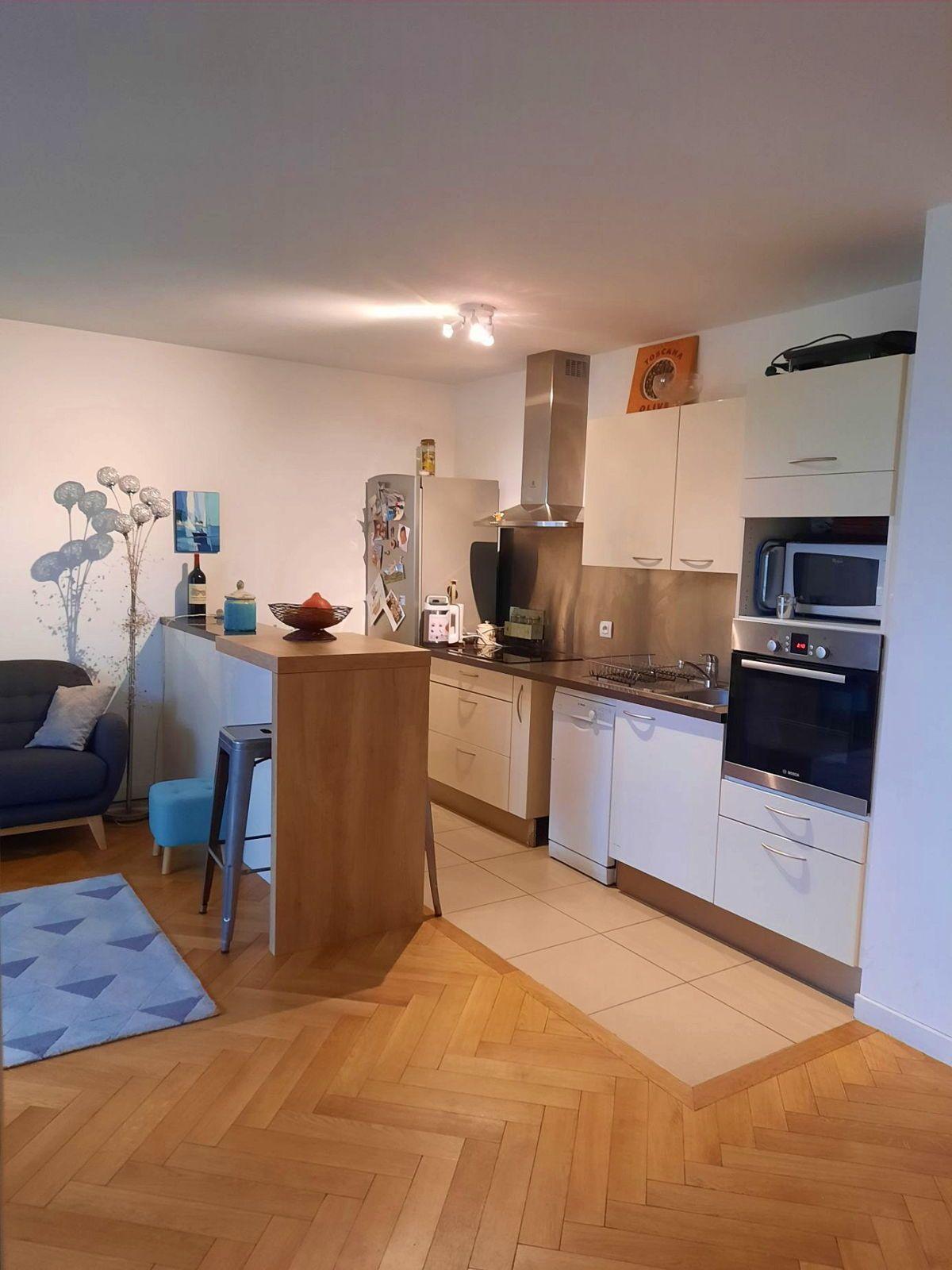 Vends Appartement 2P 50m² avec terrasse jardin à saint cloud- gounod