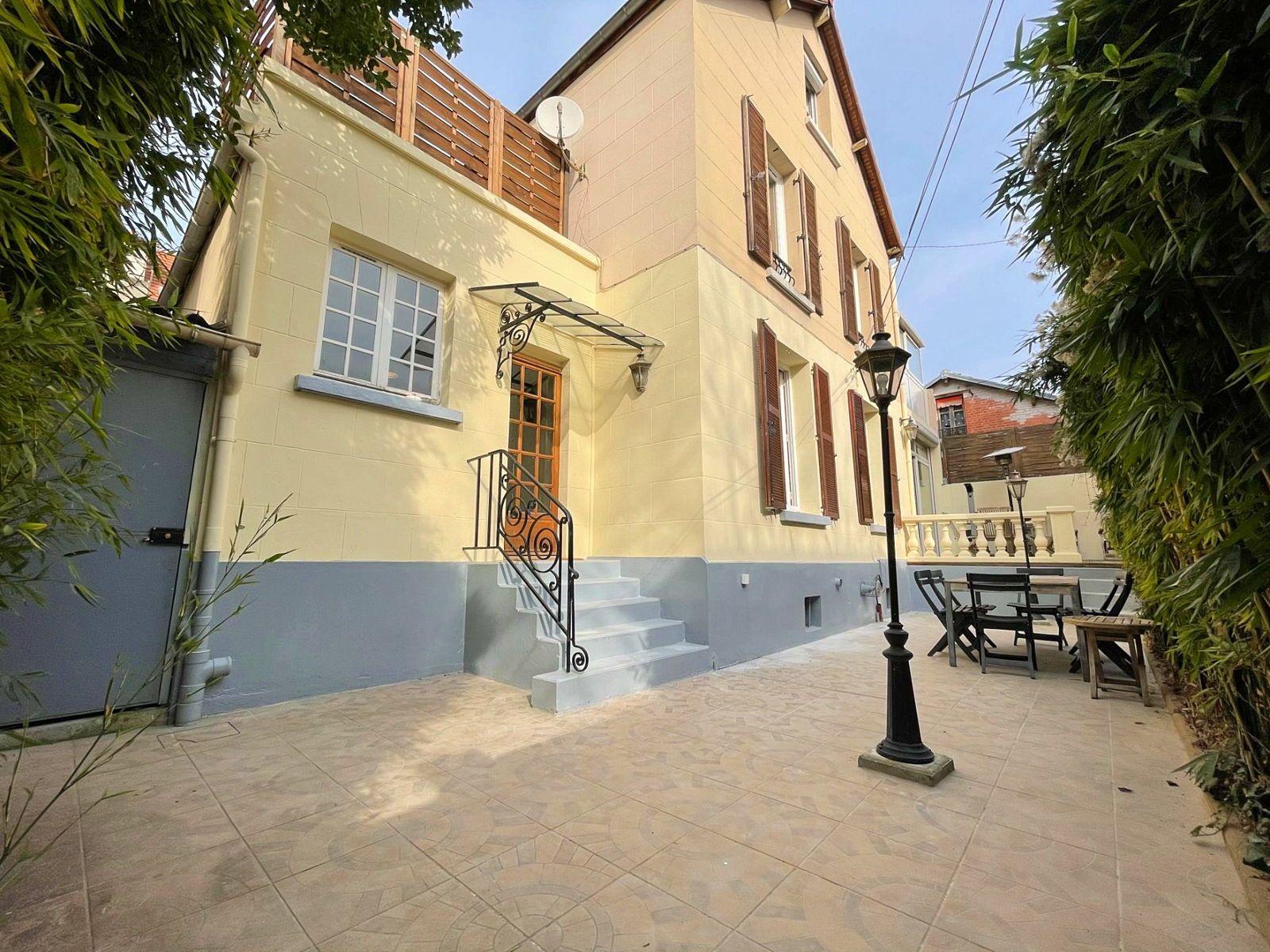 Vends belle maison et son jardin au calme - 3chambres, 109m² - Bois-Colombes (92270)