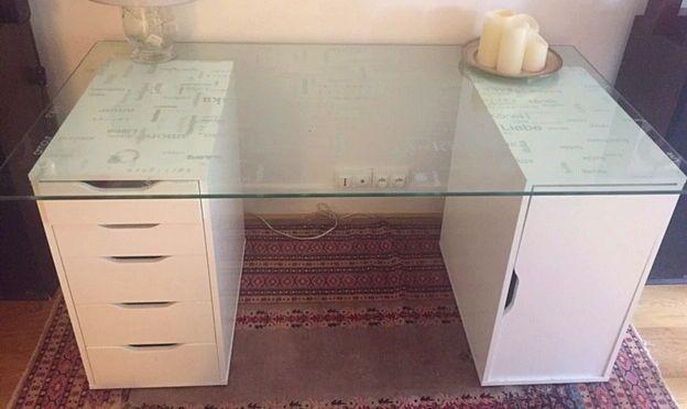 """Vends plateau en verre IKEA série """"GLASHOLM"""""""