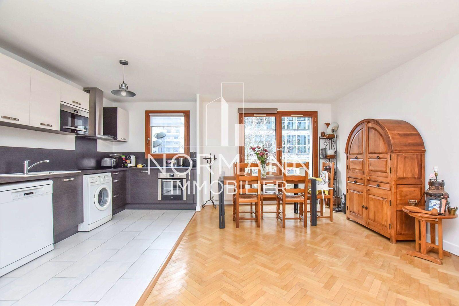 Vends appartement 65m², 2Chambres Levallois (92) - Front de Seine Balcon Plein sud