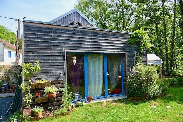 Vends charmante maison écologique- 2chambres, 70m² en bois à 1h30de Paris, Marolles (60)